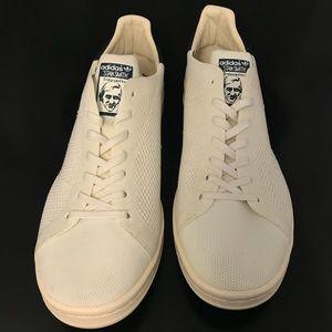 Le adidas stan smith primeknit bianca marina m 11 poshmark